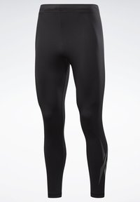 Reebok - THERMOWARM TOUCH BASE LAYER BOTTOMS - Tights - black - 7