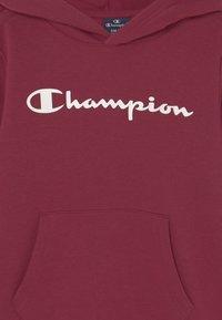 Champion - AMERICAN CLASSICS HOODED UNISEX - Bluza z kapturem - bordeaux - 2
