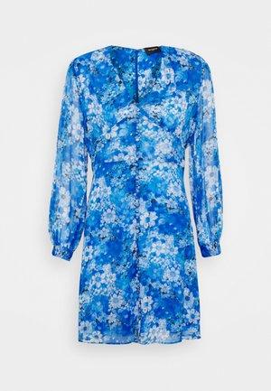 DRESS - Skjortekjole - blue