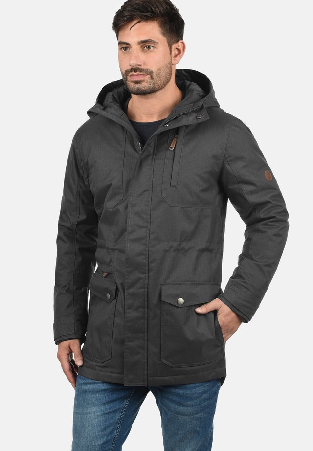 WINTERJACKE BELLO LONG - Parka - dark grey