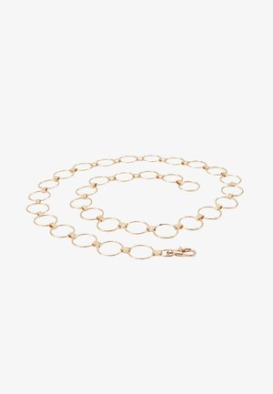 REBECCA CHAIN BELT - Belte - gold-coloured