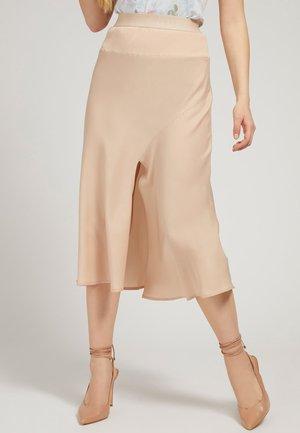 ALTEA SKIRT - A-line skirt - beige