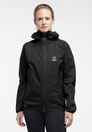 L.I.M PROOF MULTI JACKET - Waterproof jacket - true black