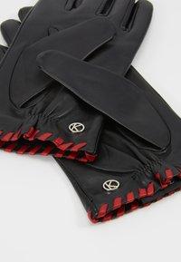Otto Kessler - BELLA - Gloves - black/crimson - 3