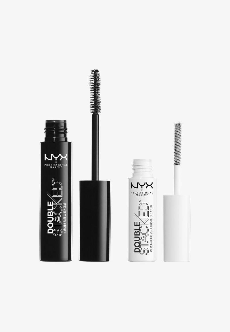 Nyx Professional Makeup - DOUBLE STACKED FIBER MASCARA - Tusz do rzęs - -