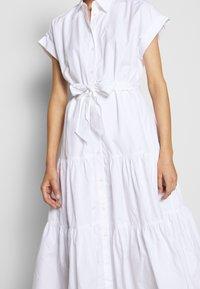 Lauren Ralph Lauren - BROADCLOTH DRESS - Košilové šaty - white - 5