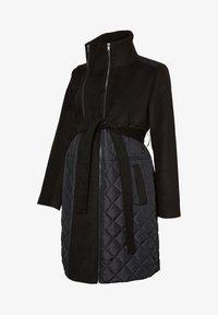 MAMALICIOUS - Classic coat - black - 4