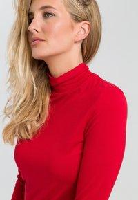 Marc Aurel - MIT TURTLENECK - Long sleeved top - red - 3