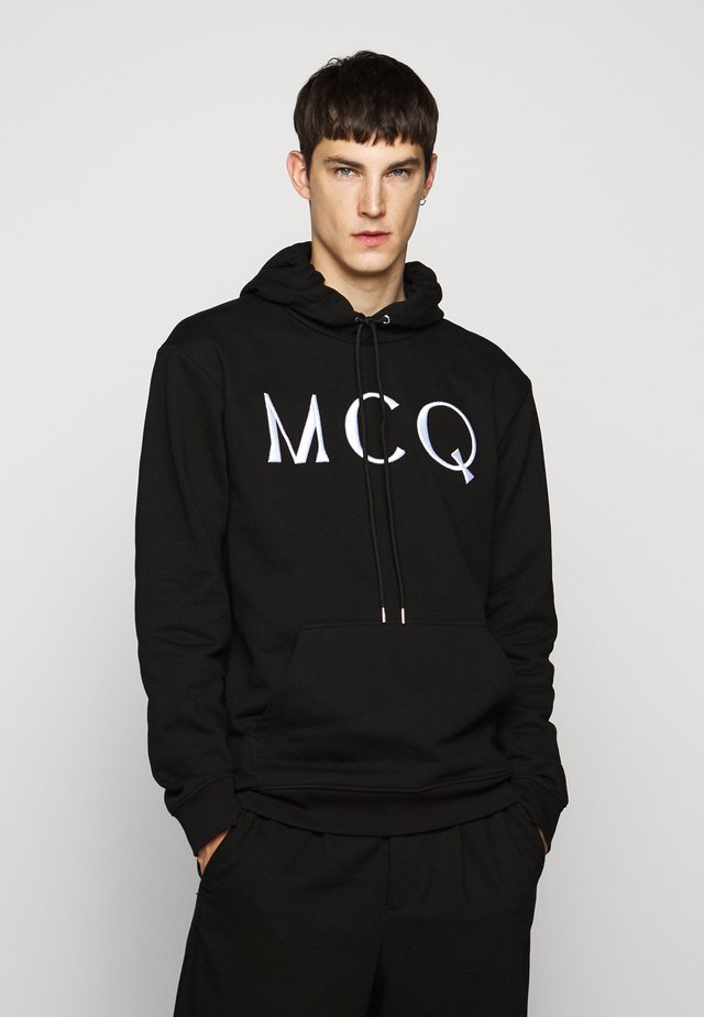 HOODIE - Sweat à capuche - darkest black