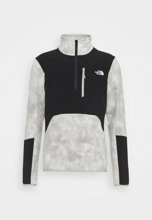 GLACIER PRO 1/4 ZIP  - Bluza z polaru - mottled grey/black
