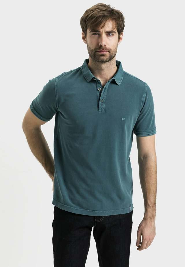 Polo shirt - tropical green