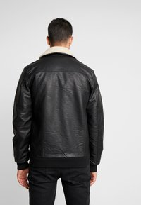 Tiffosi - FLYER - Faux leather jacket - black - 2