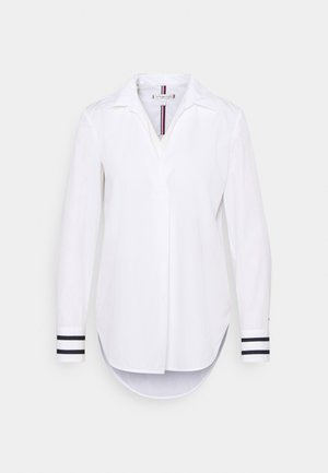 CRISP POP RELAXED BLOUSE - Blůza - optic white