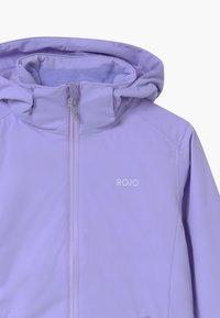 Rojo - MAISEY UNISEX - Snowboard jacket - lavender - 2