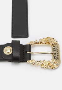 Versace Jeans Couture - BAROQUE BUCKLE - Riem - nero - 4