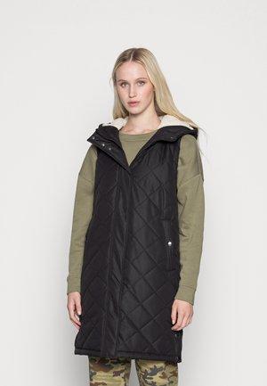 VMLOUISETEDDY WAISTCOAT - Vest - black