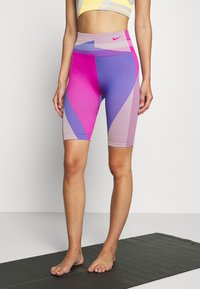 Nike Performance - Legging - fire pink/sapphire - 0