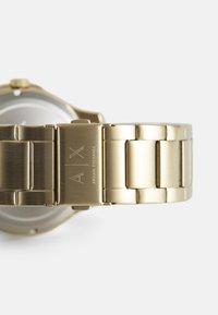 Armani Exchange - HAMPTON - Rannekello - gold-coloured - 4