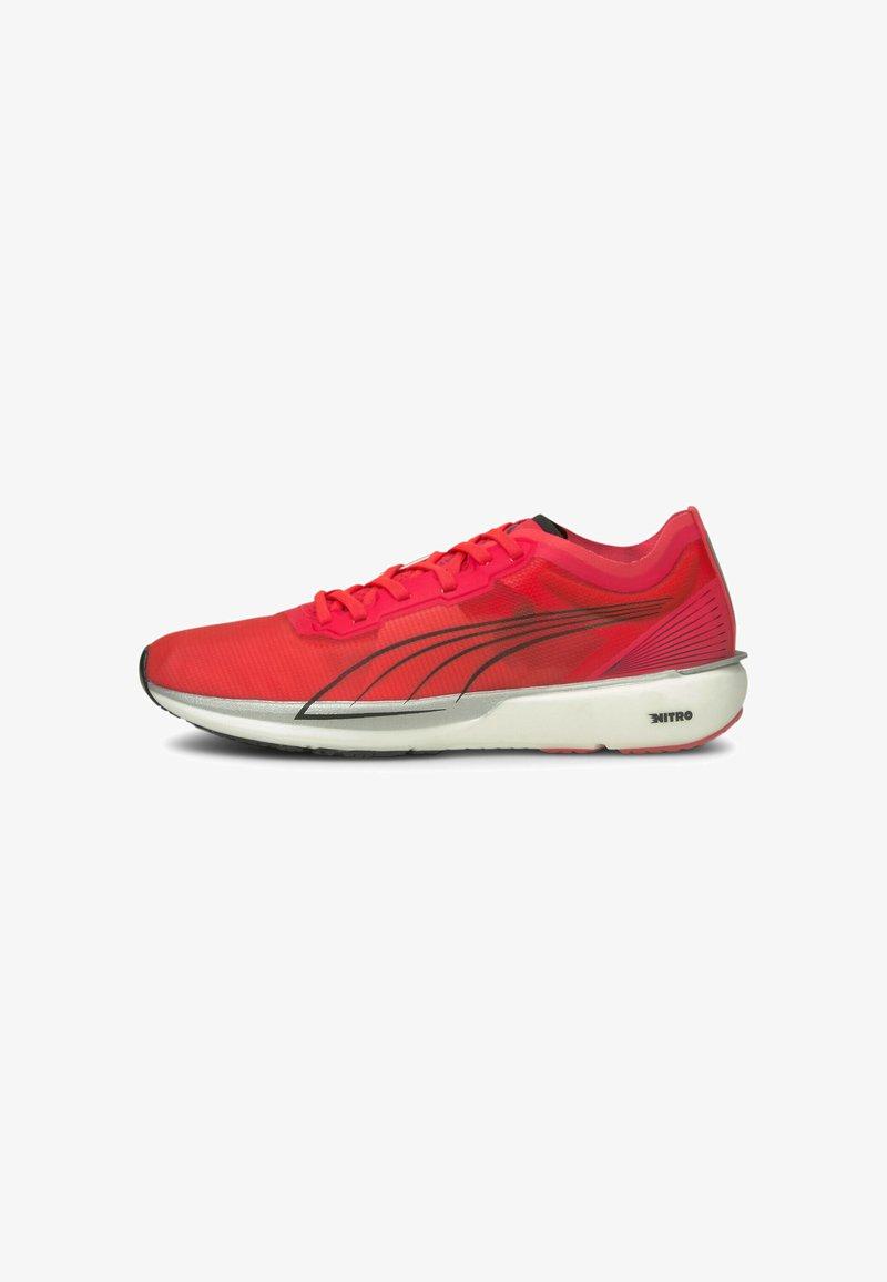 Puma - LIBERATE NITRO - Competition running shoes - sunblaze puma white