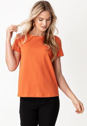MATHILDA - Basic T-shirt - rust
