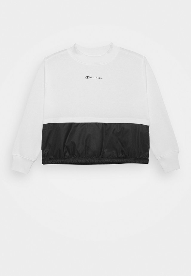 LEGACY BREAKING RULES CREWNECK - Felpa - white