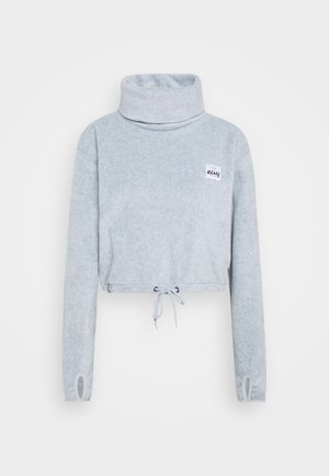 PEG CROPPED - Felpa in pile - grey