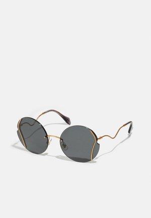 Sonnenbrille - antique gold-coloured