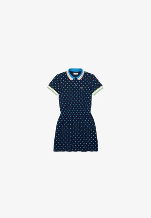 Day dress - bleu marine / blanc