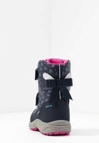 Geox - KURAY GIRL  - Zimní obuv - navy - 4