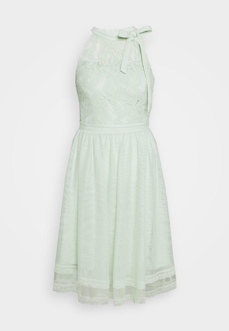 Vila - VIZINNA NEW DRESS - Sukienka koktajlowa - cameo green