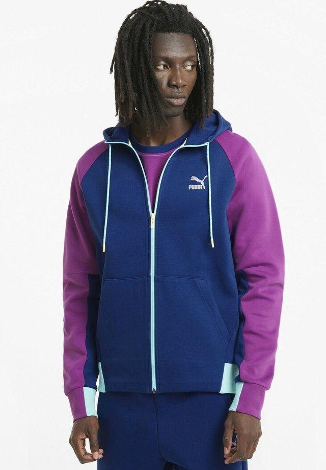 Zip-up hoodie - elektro blue
