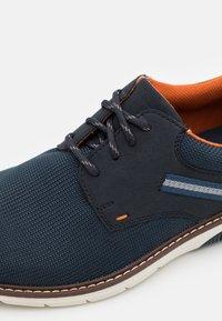 Rieker - Šněrovací boty - blau - 5