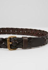 Marc O'Polo - LADIES - Flettet belte - brown - 4