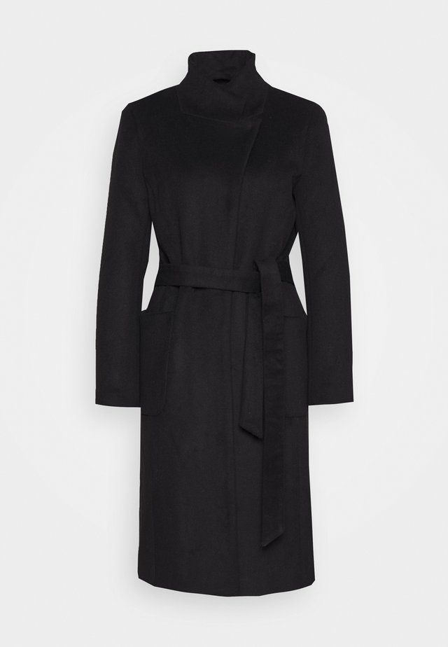 JASMINA PERLE COAT - Wollmantel/klassischer Mantel - black