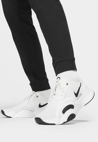 Nike Performance - PANT TAPER - Pantaloni sportivi - black/white - 4