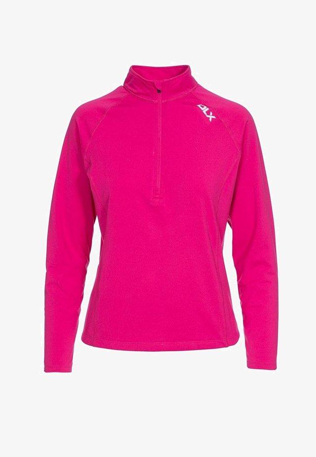 ODETTE - Long sleeved top - pink