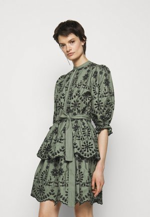 ROSIE SINEA DRESS - Shirt dress - moss