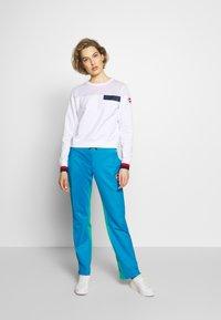 Colmar Originals - LADIES PANTS - Verryttelyhousut - blue - 1