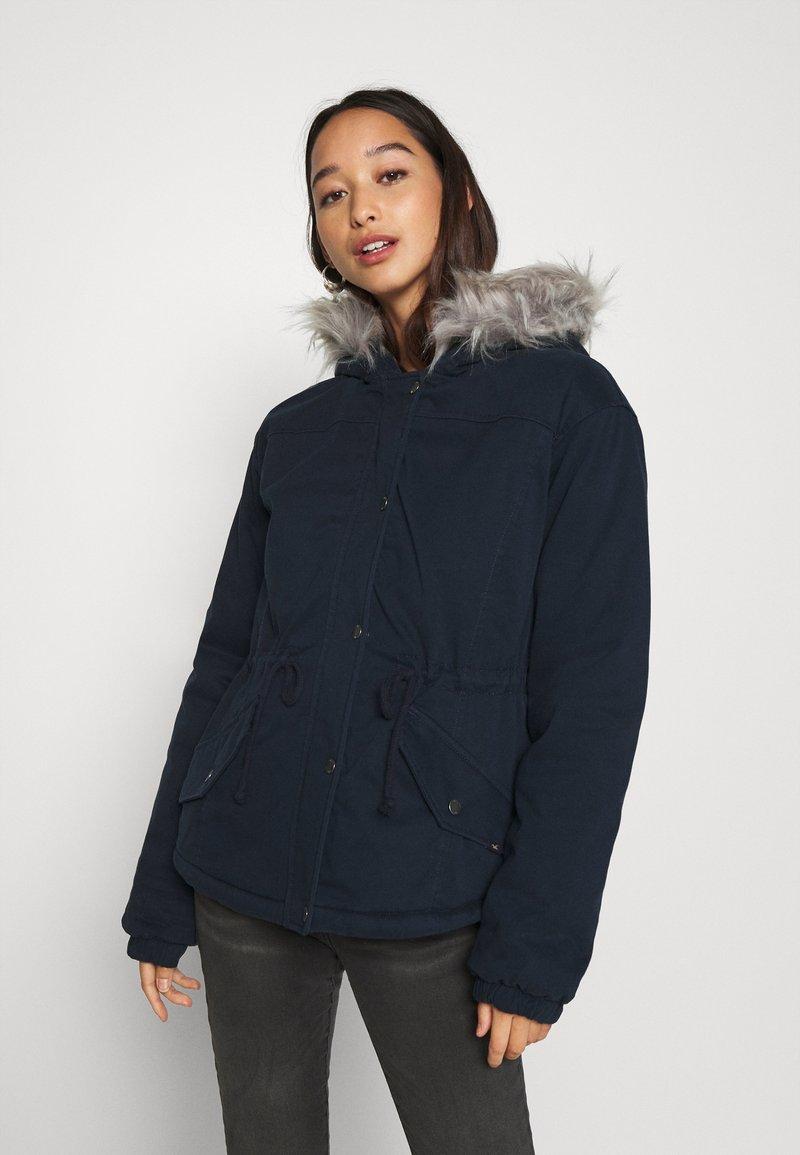 Hollister Co. - Zimní bunda - navy