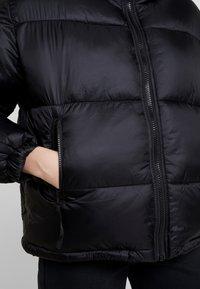 Weekday - BENITA PUFFER JACKET - Winter jacket - black - 5