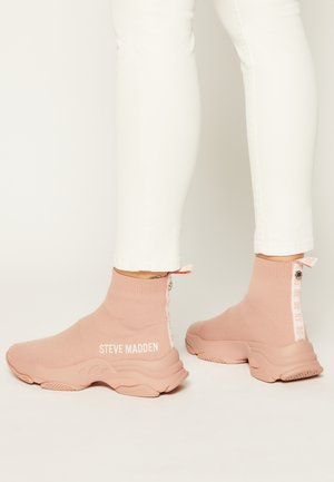 MASTER - High-top trainers - mauve