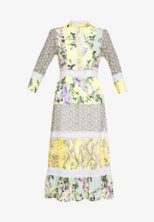 MAXI DRESS PRINTMIX - Shirt dress - multi-coloured