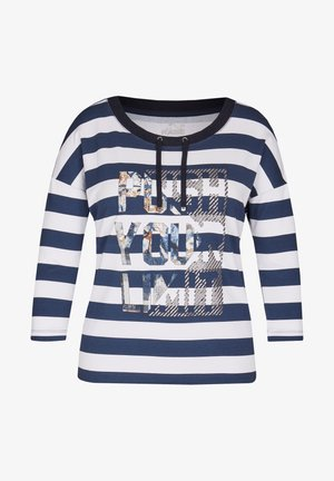 SELECTION - Long sleeved top - marine