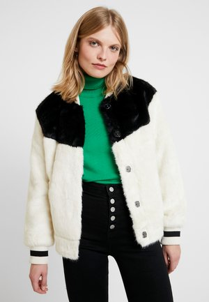 DASHA - Winter jacket - black/white