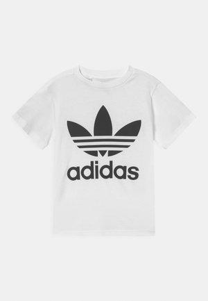 TREFOIL TEE UNISEX - T-shirt con stampa - white/black