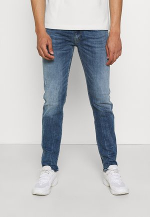 ANBASS AGED - Jeans slim fit - blue denim