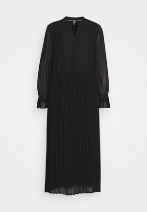 CUDAPHNE DRESS - Shirt dress - black