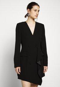 BCBGMAXAZRIA - EVE SHORT DRESS - Etuikjole - black - 3