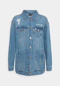 Vero Moda - VMOLIVIA JACKET - Denim jacket - medium blue denim - 3