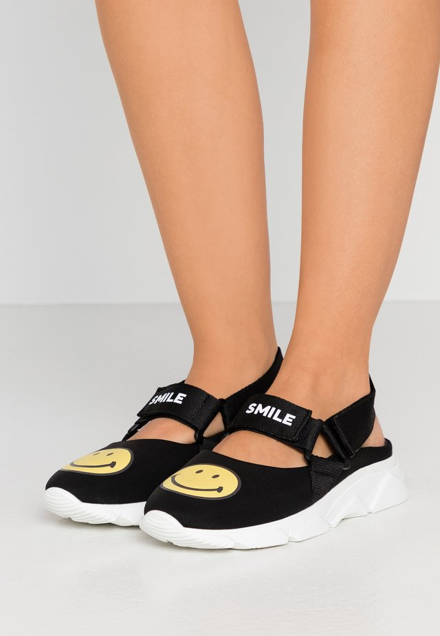 CAPSULE SMILE DONNA - Sandals - black